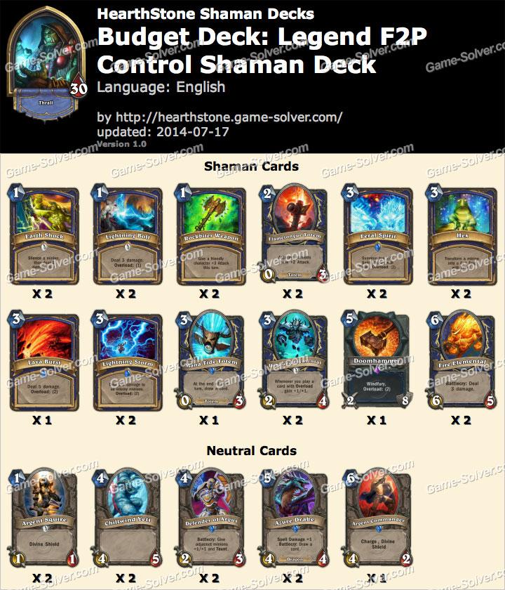 Budget-Deck-Legend-F2P-Control-Shaman