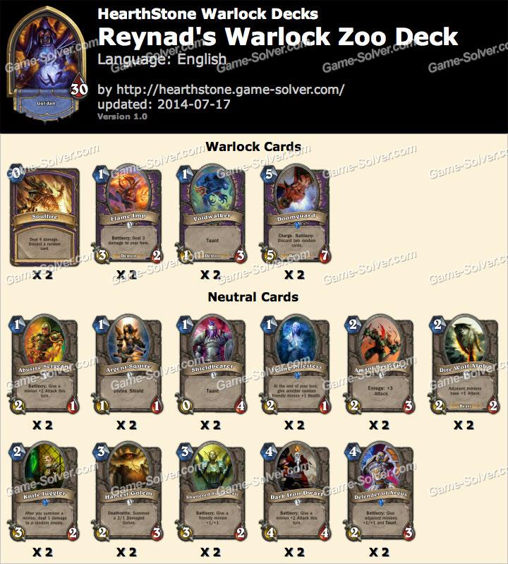 Reynad-Warlock-Zoo-Deck