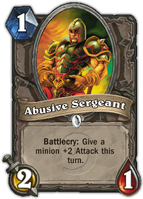Abusive Sergeant