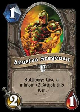 Abusive Sergeant