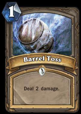 Barrel Toss