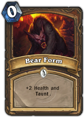 Bear Form