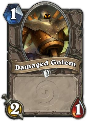 Damaged Golem