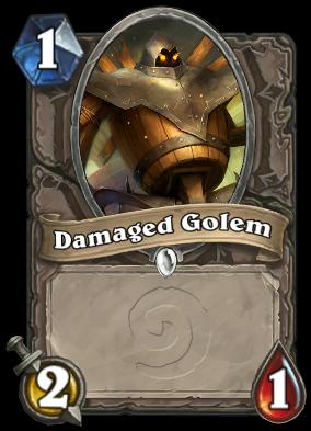 Damaged Golem