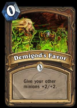 Demigod's Favor
