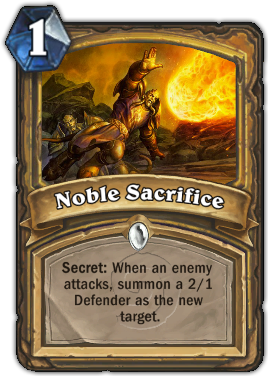 Noble Sacrifice