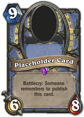Placeholder Card