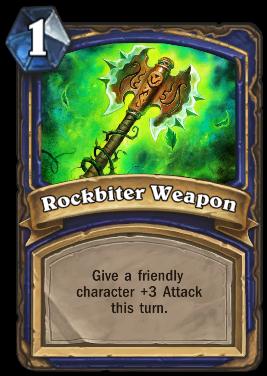 Rockbiter Weapon