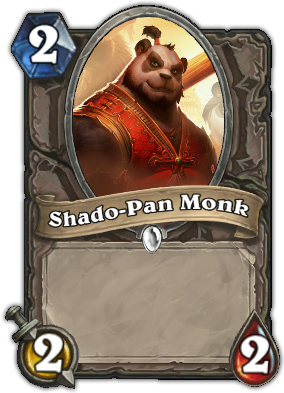 Shado-Pan Monk