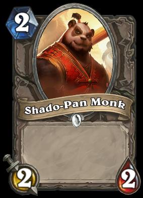 Shado-Pan Monk