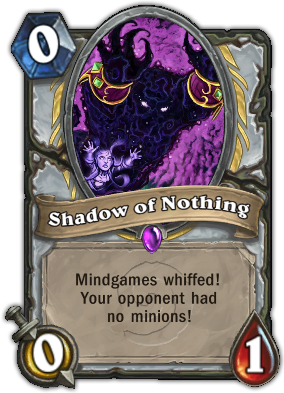 Shadow of Nothing