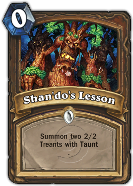 Shan'do's Lesson