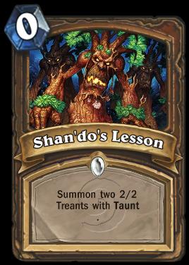 Shan'do's Lesson