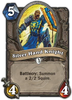 Silver Hand Knight