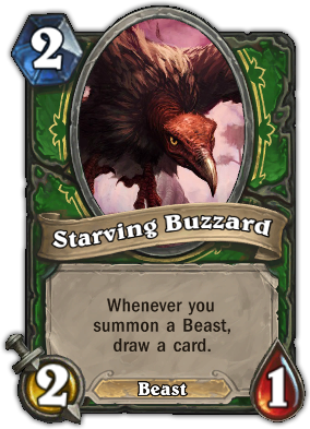 Starving Buzzard