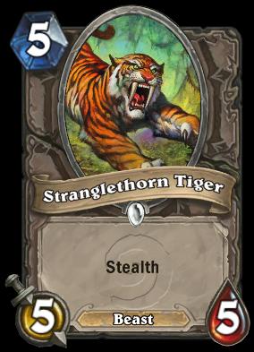 Stranglethorn Tiger
