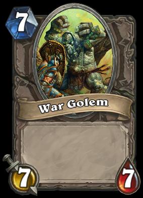 War Golem