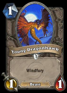 Young Dragonhawk