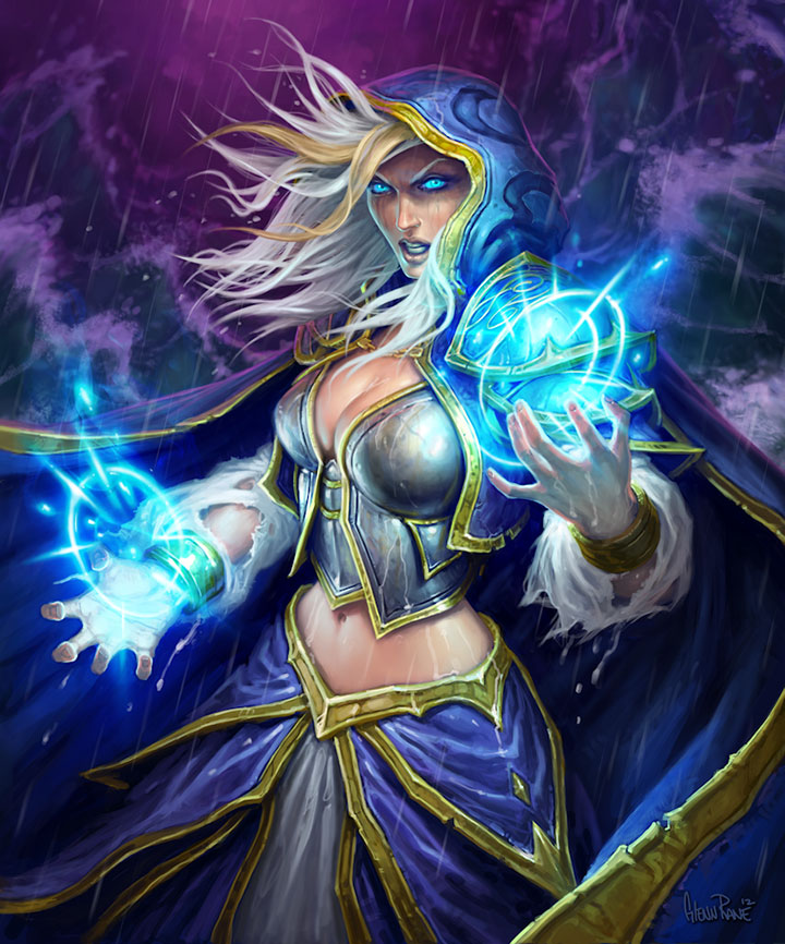Frost Giant Mage Deck